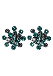 Konplott Magic Fireball Earrings Blue Green Antique Silvercoloured