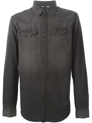 Blk Dnm Denim Shirt Grey