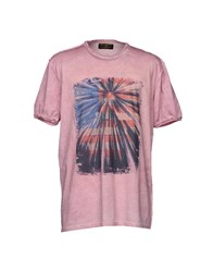 Athletic Vintage T Shirts Pink