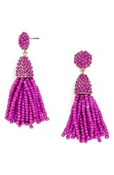 Baublebar Women's Tratar Drop Earrings Bright Purple