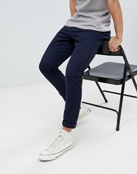 New Look Skinny Chino In Navy