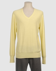 Acne Studios V Necks Light Yellow