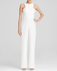 Aq Aq Jumpsuit Crane High Neck Cream