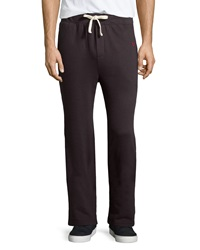 True Religion Embroidered Fleece Lined Sweatpants Charcoal