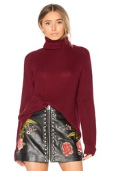 Lovers Friends X Revolve Tia Sweater Burgundy