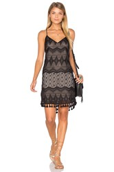 Eight Sixty Crochet Dress Black