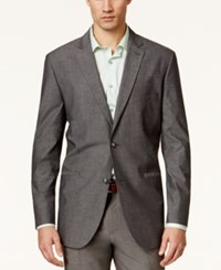 Alfani Red Men's Kyler Chambray Slim Fit Sport Coat Only At Macy's Chambray Grey