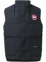 Canada Goose 'Freestyle' Gilet Blue