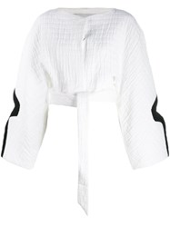 Chalayan Croped Top White