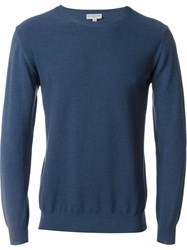 Melindagloss Crew Neck Jumper Blue