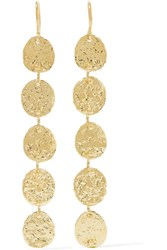 Jennifer Meyer 18 Karat Gold Earrings