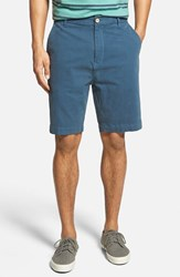 Men's Big And Tall Rodd And Gunn 'Bassett Street' Slim Fit Bermuda Shorts Navy