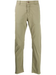 Closed Classic Chino Trousers Green