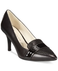 Anne Klein Youly Pointed Toe Pumps Houndstooth