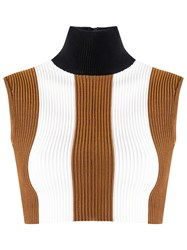 Haight Sleeveless Knit Top Brown