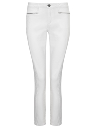 Phase Eight Victoria Seamed Jeans White