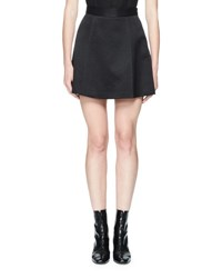 Olivier Theyskens Tosca Flared Mini Skirt Black