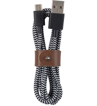 Native Union Zebra Micro Usb Belt Cable Medium 1.2M