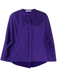 Dorothee Schumacher Flare Styled Blouse Purple