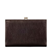 Maxwell Scott Bags Ladies Brown Leather Classic Purse