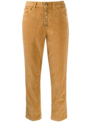 Dondup Cropped Corduroy Trousers 60