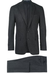 Polo Ralph Lauren Two Piece Buttoned Suit Grey