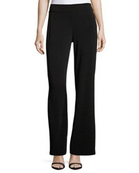 Michael Michael Kors Wide Leg Side Zip Pants Black