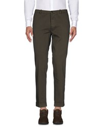 Obvious Basic Casual Pants Military Green