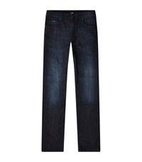 Boss Albany Comfort Fit Jeans Male Blue