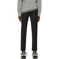 Cmmn Swdn Black And Houndstooth Dangelo Trousers