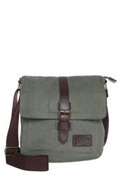 Pier One Across Body Bag Olive Brown