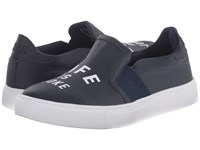 Eleven Paris Lorde Life Navy Matte Women's Slip On Shoes