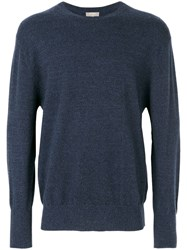 N.Peal The Oxford Round Neck 1Ply Jumper 60