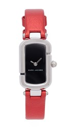 Marc Jacobs The Watch Silver Black Red