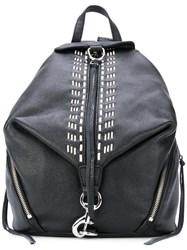 Rebecca Minkoff Stitching Detailing Backpack Women Calf Leather One Size Black
