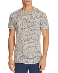Sovereign Code Vivid Geometric Print Tee Heather Gray