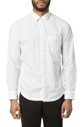 Good Man Brand Men's Trim Fit Cross Point Sport Shirt