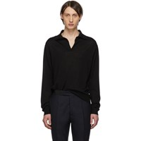 Maison Martin Margiela Black Gauge 14 Polo