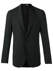 Paul Smith Ps By One Button Blazer Black