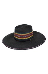 Peter Grimm Kelli Straw Resort Hat Black