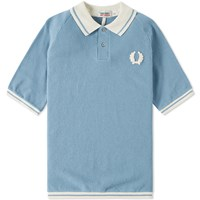 Fred Perry X Nigel Cabourn Sports Pique Polo Blue