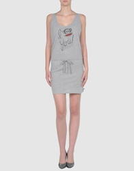 Paul Frank Short Dresses White