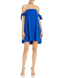 Milly Jade Off The Shoulder Dress Cobalt
