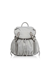 M Z Wallace Mz Marlena Backpack Dove Gray Silver