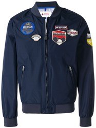 Invicta Patch Bomber Jakcet Blue