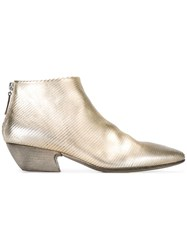 Marsell Pointed Toe Boots Metallic