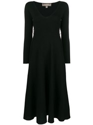 N.Peal Milano Knitted Dress Black