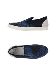 H Sio Footwear Low Tops And Trainers Men Blue