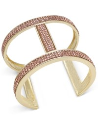 Inc International Concepts Pave Open Cuff Bracelet Only At Macy's Gold