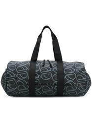 Stella Mccartney Printed Logo Holdall Black